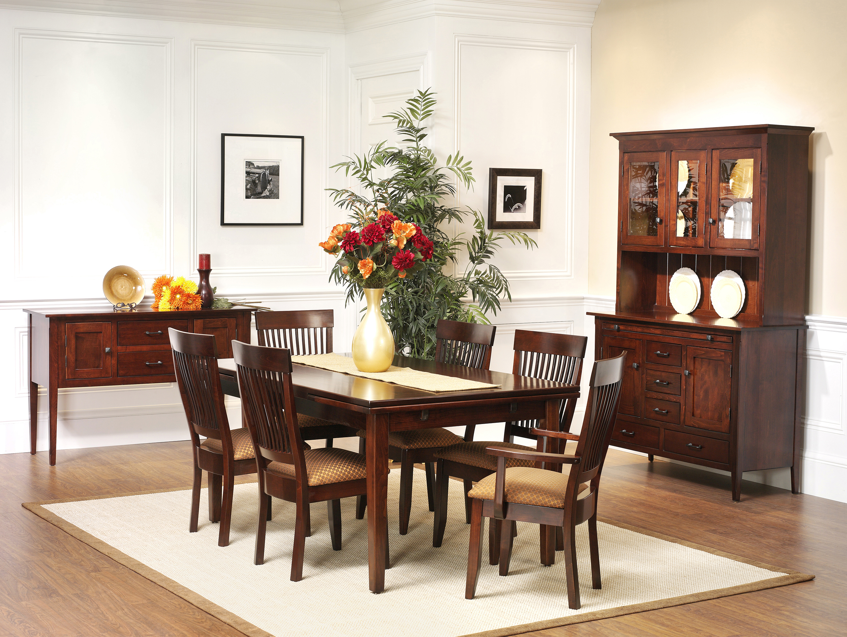 the amish gallery :: dining room